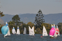 DSC_0288 Front runners in the Tumbulgum Passage 2017